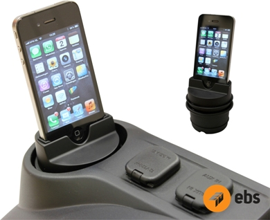 EBSbv, EBS iPhone dock