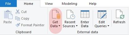 import data into Power BI