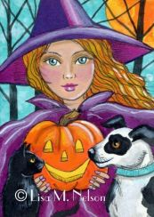 Halloween Friends by Lisa M Nelson