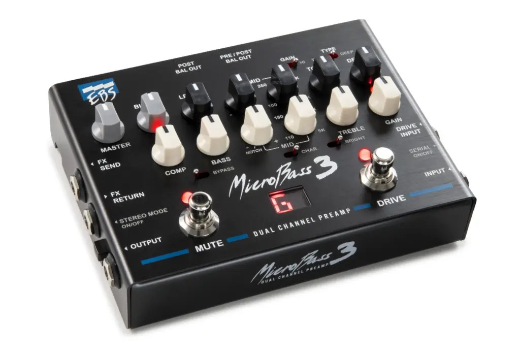EBS MicroBass 3 - Professional Outboard Preamp  
