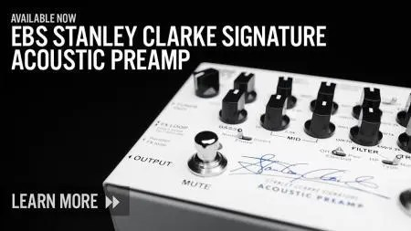 New Stanley Clarke Signature Acoustic Preamp