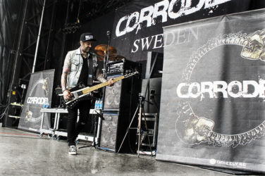 EBS Artist Bjarne with Corroded.