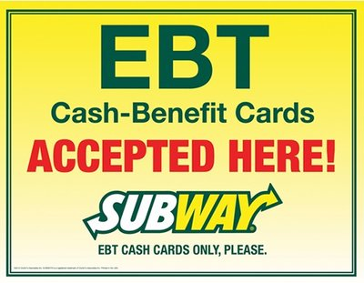 Can I use my EBT card at Subway