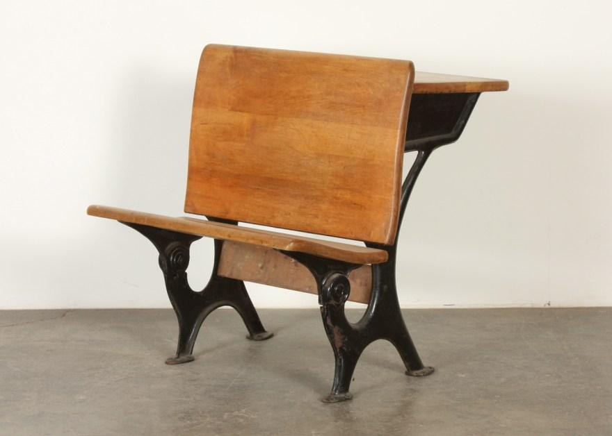 Theodor Kundtz Eclipse Antique School Desk #6 Ebth