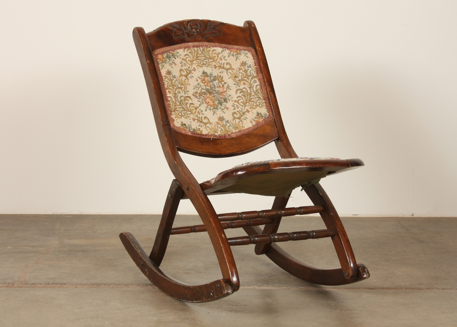 foldable rocking chair pc gaming amazon victorian era folding ebth