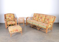 Mid Century Heywood Wakefield Rattan Patio Furniture : EBTH