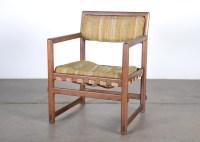 Dunbar Mid Century Wood Arm Chair : EBTH