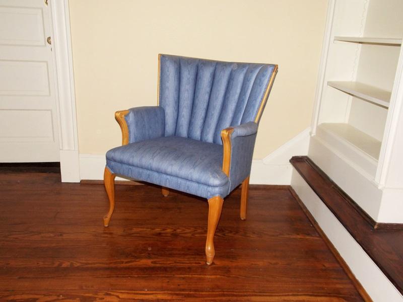 Fan Back Upholstered Chair  EBTH