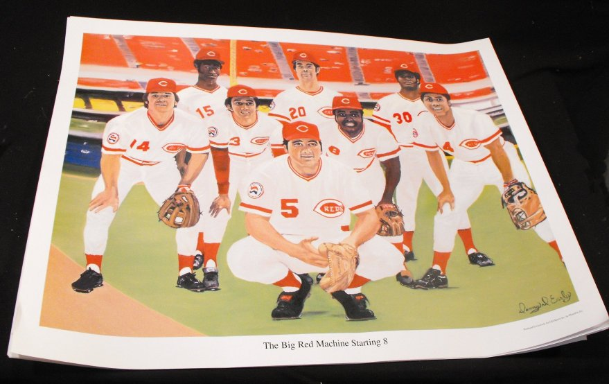Big Red Machine Cincinnati Reds