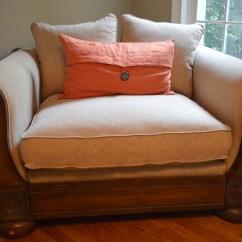Oversized Upholstered Chair La Z Boy Office Alexvale Ebth