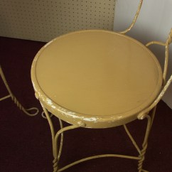 Ice Cream Table And Chairs Old Rocking Chair Parlor Four Ebth