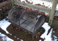 Outdoor Fire Pit with Domed Lid : EBTH