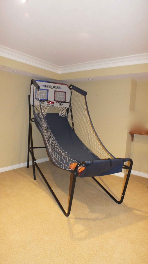 Indoor Double Shot Basketball Game
