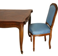 Louis XV Style Dining Table and Louis XVI Style Chairs : EBTH