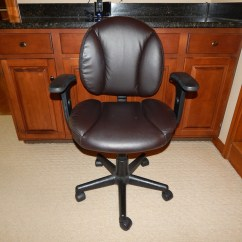 Staples Turcotte Chair Brown Child Size Dimensions Office Ebth