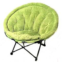 Metal Papasan Chair Step 2 Studio Art Desk With In A Bag Foldable Corduroy Legs Ebth
