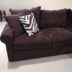 Macy S Orange Sectional Sofa Steel Legs Macy's Modern Concepts Couch : Ebth