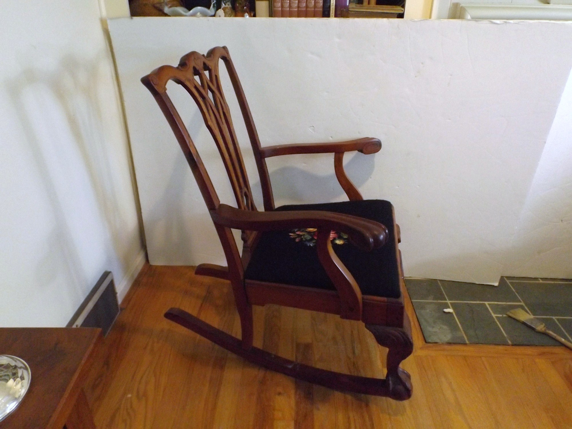 chippendale rocking chair stackable chairs for sale style rocker ebth