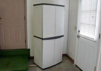 Workforce Plastic Storage Cabinet : EBTH