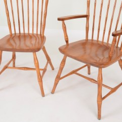 Nichols And Stone Dining Chairs World Market Leather Chair Six Bamboo Turned Ebth