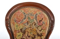 Antique Embroidered Chair : EBTH