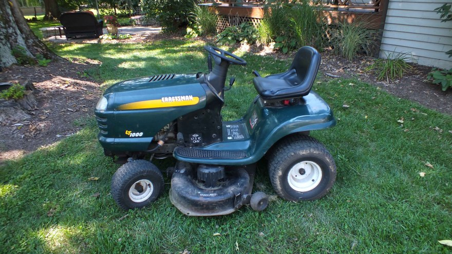1998 Craftsman Riding Lawn Mower - Year of Clean Water