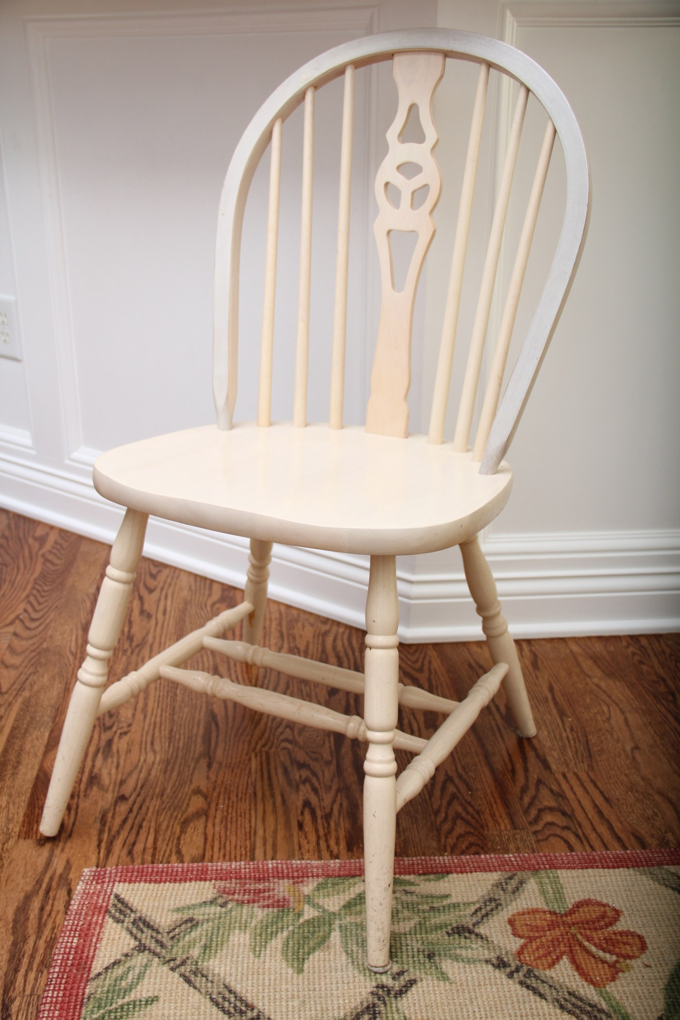 Windsor Style Chairs Farmhouse Style Dining Table With Six Windsor Style Chairs
