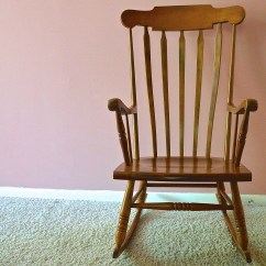 Tell City Chairs Pattern 4548 Big Joe Bean Chair Colonial Style Rocking By Company Ebth