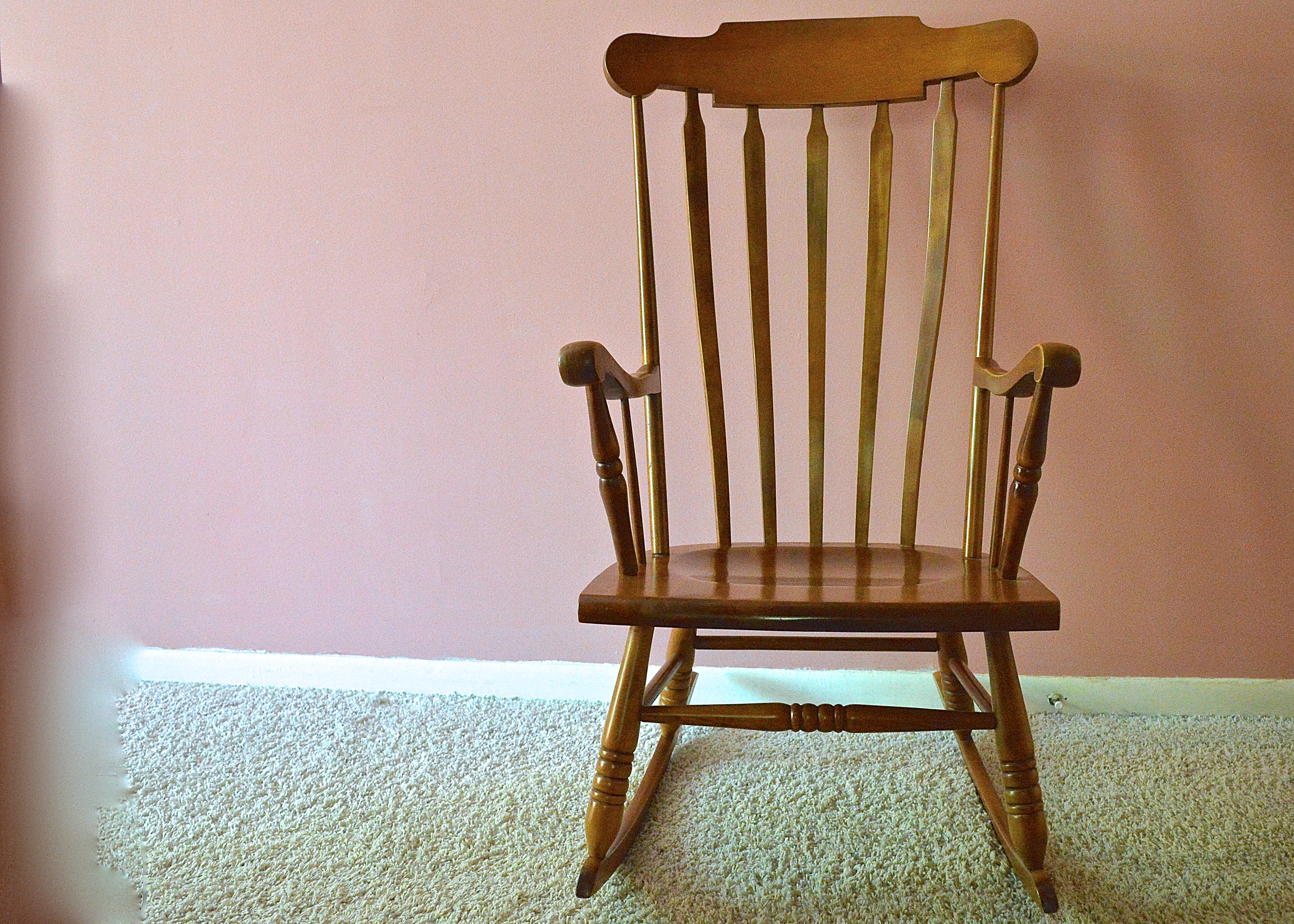 tell city chairs pattern 4222 iron horse colonial style rocking chair by company ebth