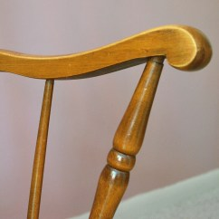 Tell City Chairs Pattern 4548 Kitchen Chair Seat Repair Colonial Style Rocking By Company Ebth