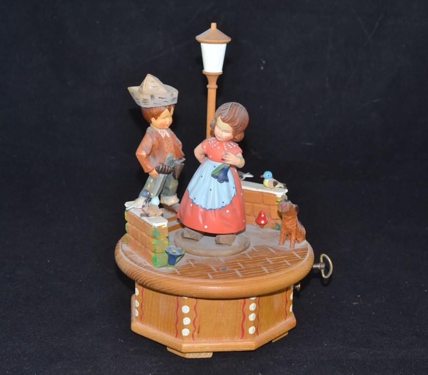 Vintage Anri Italian Music Box Ebth
