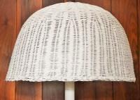 Vintage Wicker Floor Lamp : EBTH