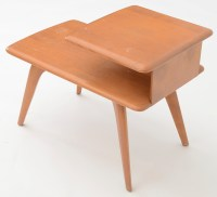 Heywood Wakefield Mid Century Modern Two Tiered End Table ...