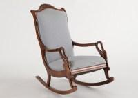 Victorian Style Gooseneck Rocking Chair : EBTH