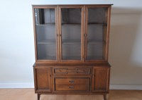 Mid-Century Cabinet with Hutch by Bassett : EBTH