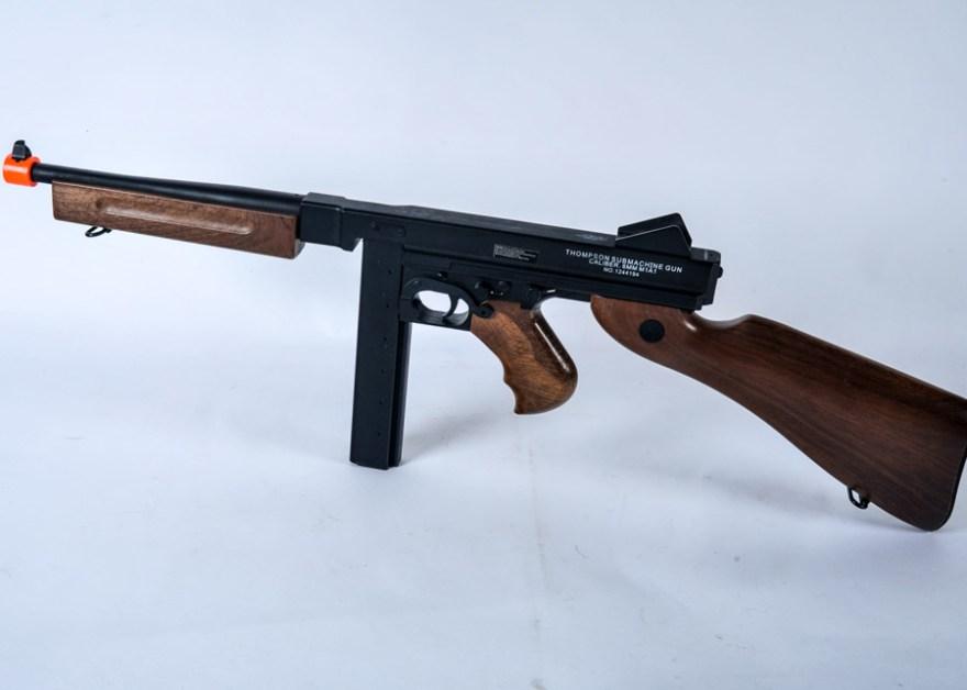 Airsoft Thompson Submachine Gun Ebth