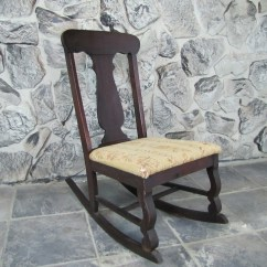 Rocking Chairs For Nursing How Much To Rent A Barber Chair Small Antique : Ebth