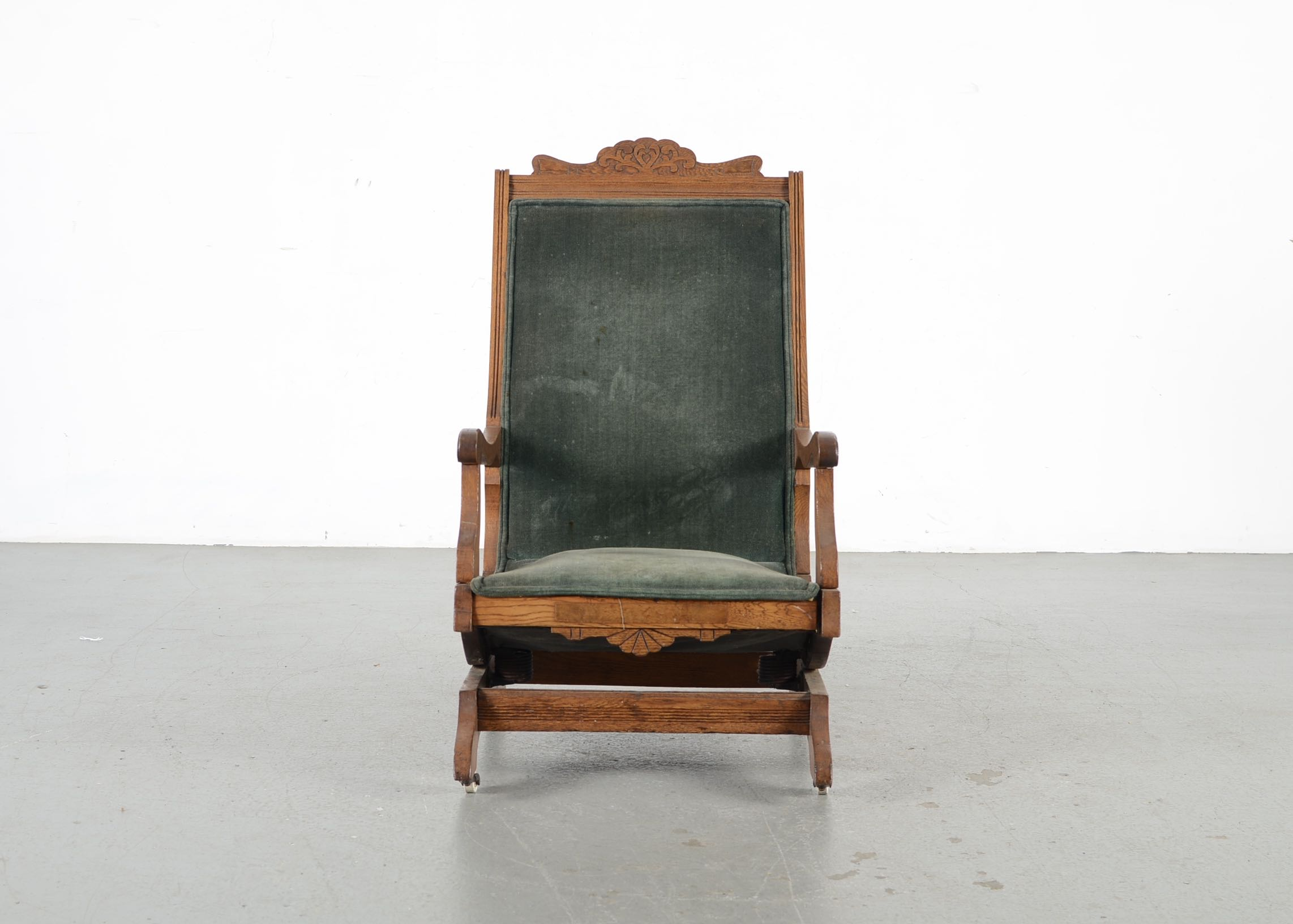 antique platform rocking chair with springs stand test protocol eastlake oak rocker ebth
