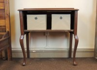 Vintage Queen Anne Style Commode Cabinet : EBTH