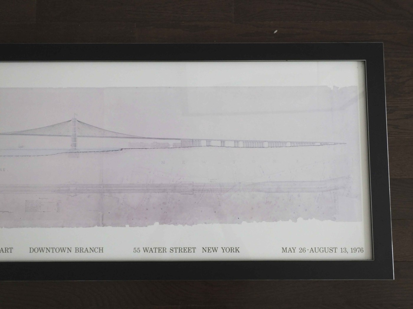 """Whitney Museum Exhibit Poster """"building Brooklyn"""