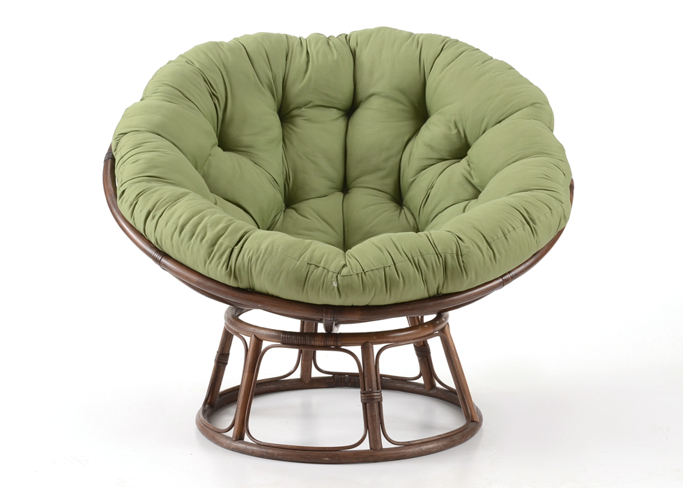 papa san chair black kitchen chairs cheap pier 1 imports green papasan ebth