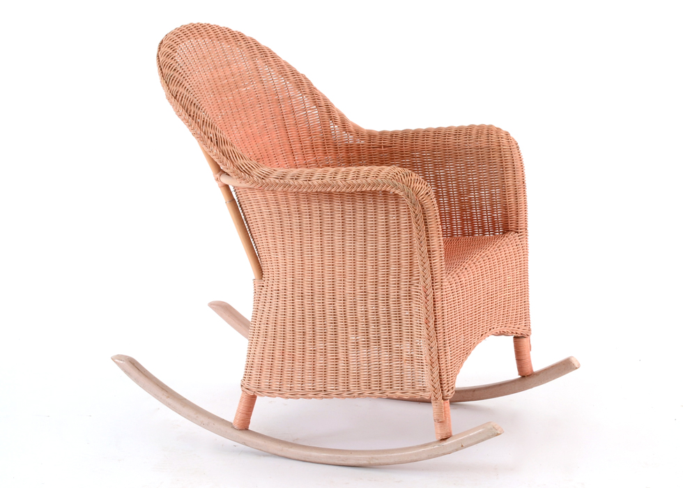 vintage wicker rocking chair hanging how to install ebth