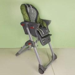Green High Chair Cherry Rocking Graco Ebth
