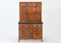 Oak Hoosier Cabinet by Wilson Kitchen Cabinets : EBTH