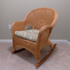 Rocking Chair And Cradle In One Back Covers For Weddings Pier Imports Cushioned Ebth