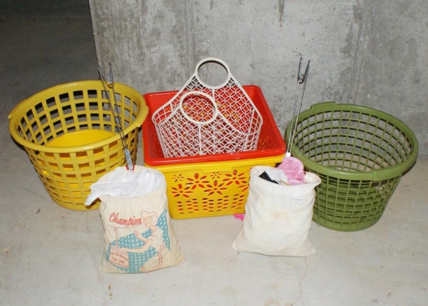 Vintage Laundry Accessories