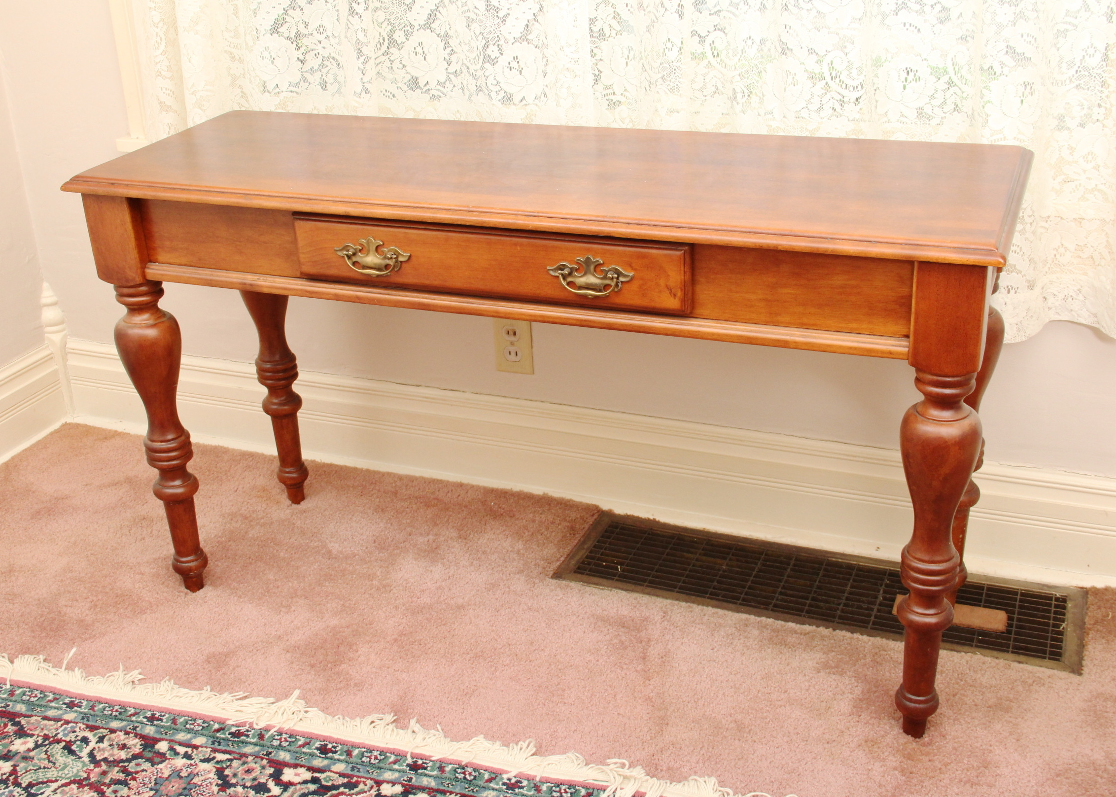 early american style sofas leather sofa patch table ebth