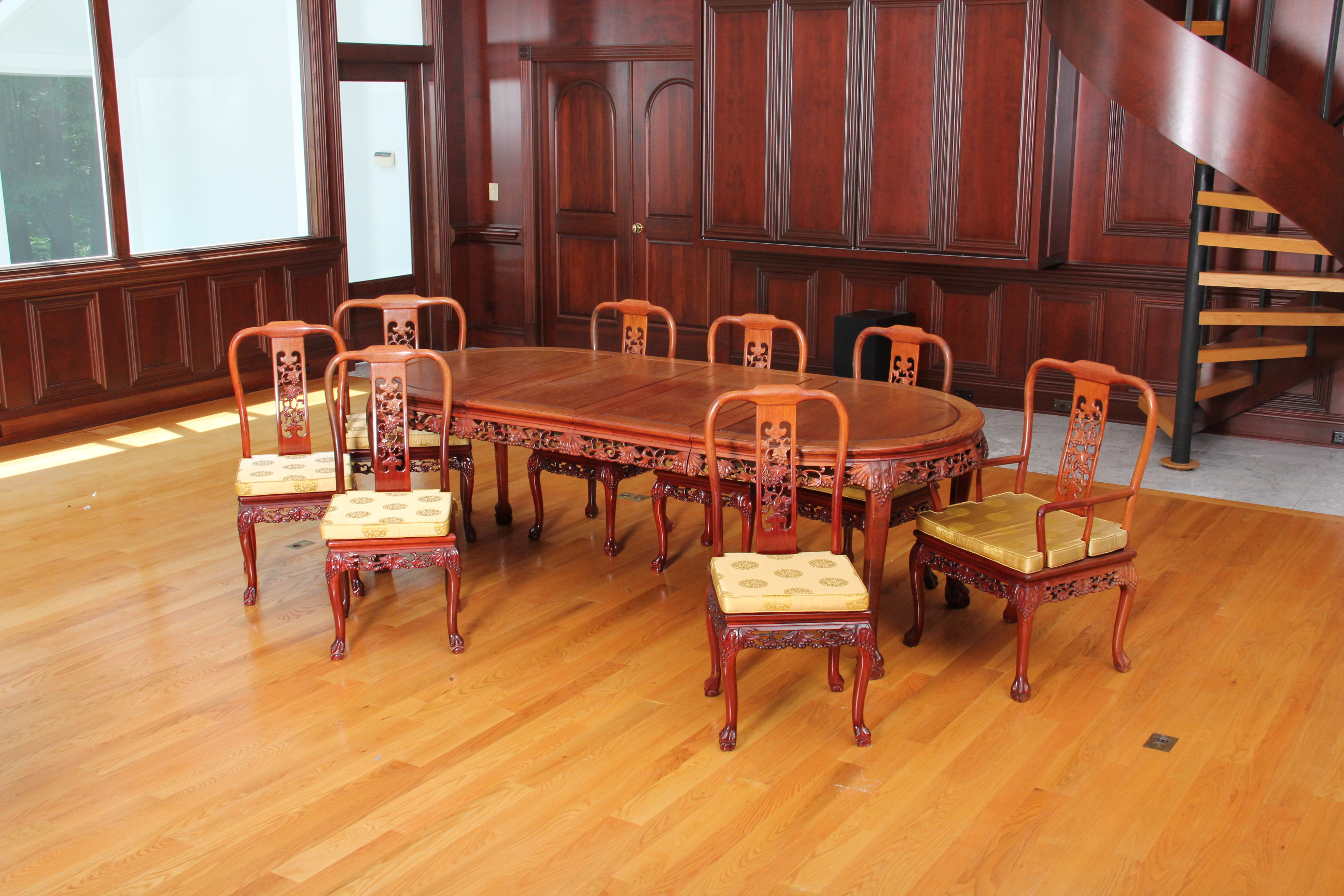 chinese rosewood dining table and chairs of the world gw2 carved ebth