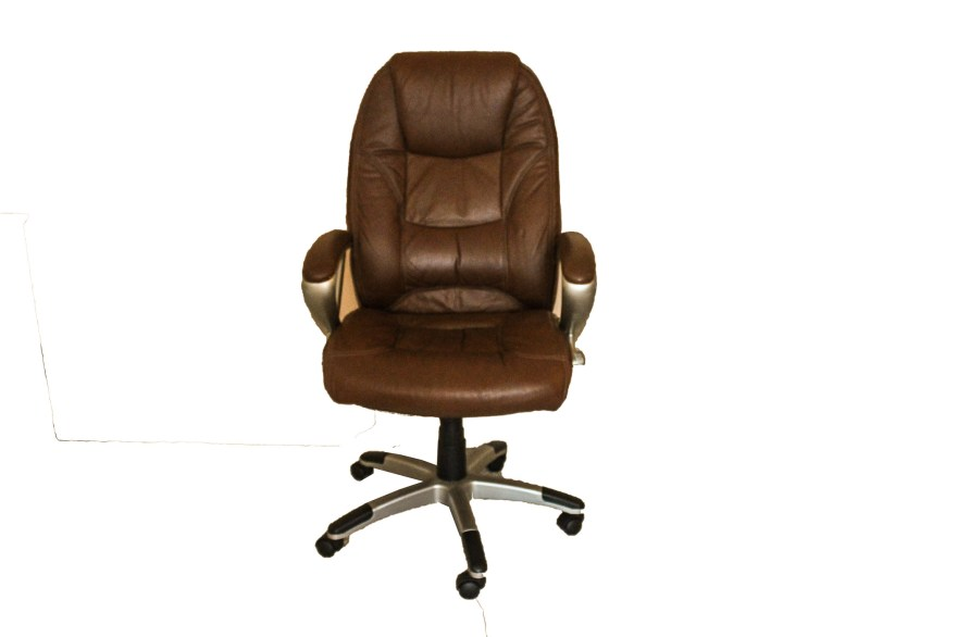 Cushioned Rolling Office Chair  EBTH