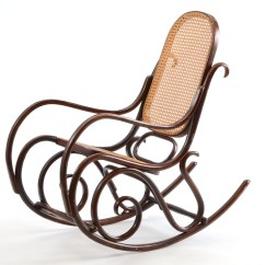 Bent Wood Rocking Chair Posturepedic Office Vintage Thonet Style Bentwood Ebth